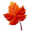 빨간색단풍잎 템플릿