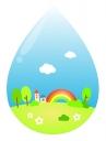 무지개마을과물방울 템플릿