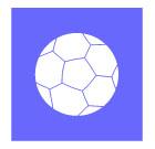 축구공 템플릿