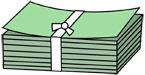 만원권 지폐 템플릿