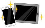 휴대폰과 테블릿 템플릿