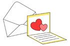 카드와편지봉투 템플릿