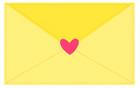 노란색편지 템플릿