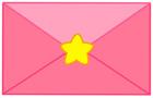 핑크색편지 템플릿