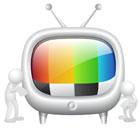 사람과 TV 템플릿