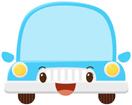 하늘색자동차 템플릿