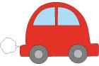 빨간 자동차 템플릿