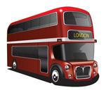 영국 이층버스 템플릿