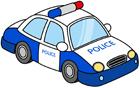 경찰차 템플릿