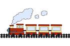 기차 템플릿