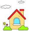 주택 템플릿