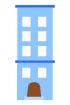 파란색건물 템플릿