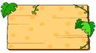 나무표지판 템플릿