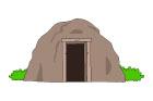 동굴 템플릿