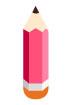 분홍색연필 템플릿