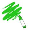 초록색크레파스 템플릿