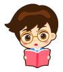 공부하는남자아이 템플릿