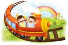 기차여행 템플릿