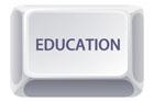 EDUCATION키보드 템플릿