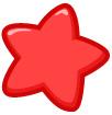빨간색별 템플릿