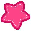 분홍색별 템플릿