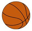 농구공 템플릿