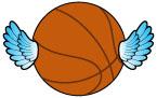 날개달린 농구공 템플릿