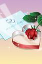 반지와 꽃 템플릿