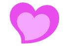 핑크색별글상자 클립아트/이미지