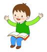 독서하는어린이 템플릿