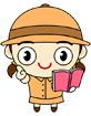 책들고있는여자아이 템플릿