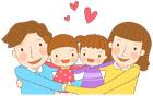 안고있는가족 템플릿