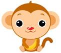 원숭이 템플릿