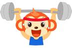운동하는원숭이 템플릿