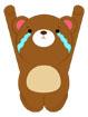 벌서고있는곰 템플릿