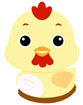 닭 템플릿