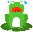 울고있는개구리 템플릿