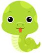 뱀 템플릿