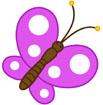 보라색나비 템플릿