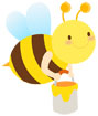 꿀벌 일러스트/이미지