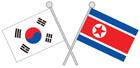 남한국기와북한국기 템플릿