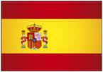 스페인 국기 템플릿