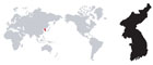 세계지도(한국) 템플릿