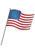 미국국기깃발 템플릿