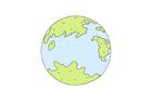 지구 템플릿