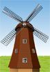 네덜란드 풍차 템플릿