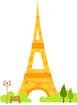 에펠탑 템플릿