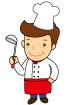 요리사 템플릿