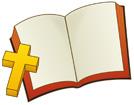 성경책과십자가 템플릿