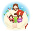 아이들을안고있는예수님 템플릿